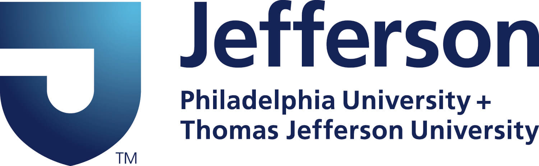 Jefferson Philadelphia University + Thomas Jefferson University Logo