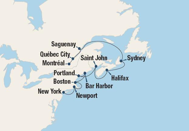 Foliage Map New York 2017.Fall Foliage Of Canada And New England 10 8 2019 10 19 2019 Go Next