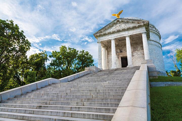 Illinois Monument at Vicksburg