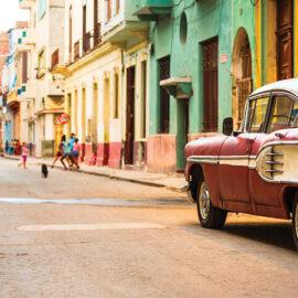 Havana Street with Car