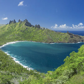 Nuku Hiva Mountains and Beaches