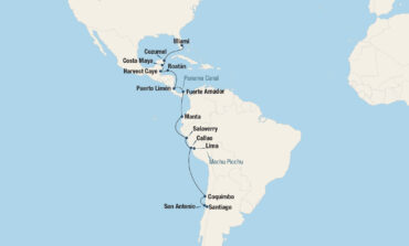 Sunny Islands & Andes Cruise Map