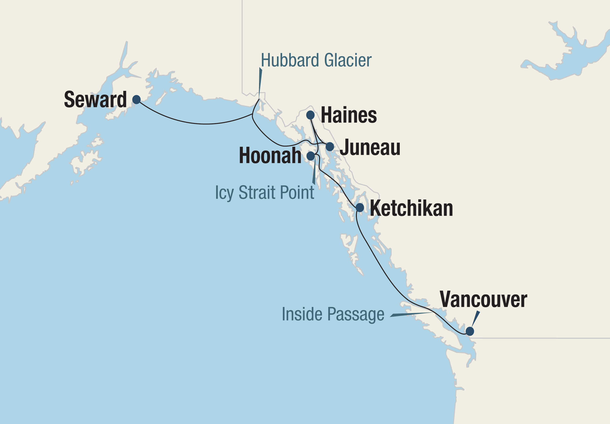 Icy Strait Point Alaska Map.Summer Vistas Of Alaska 7 23 2020 7 30 2020 Go Next