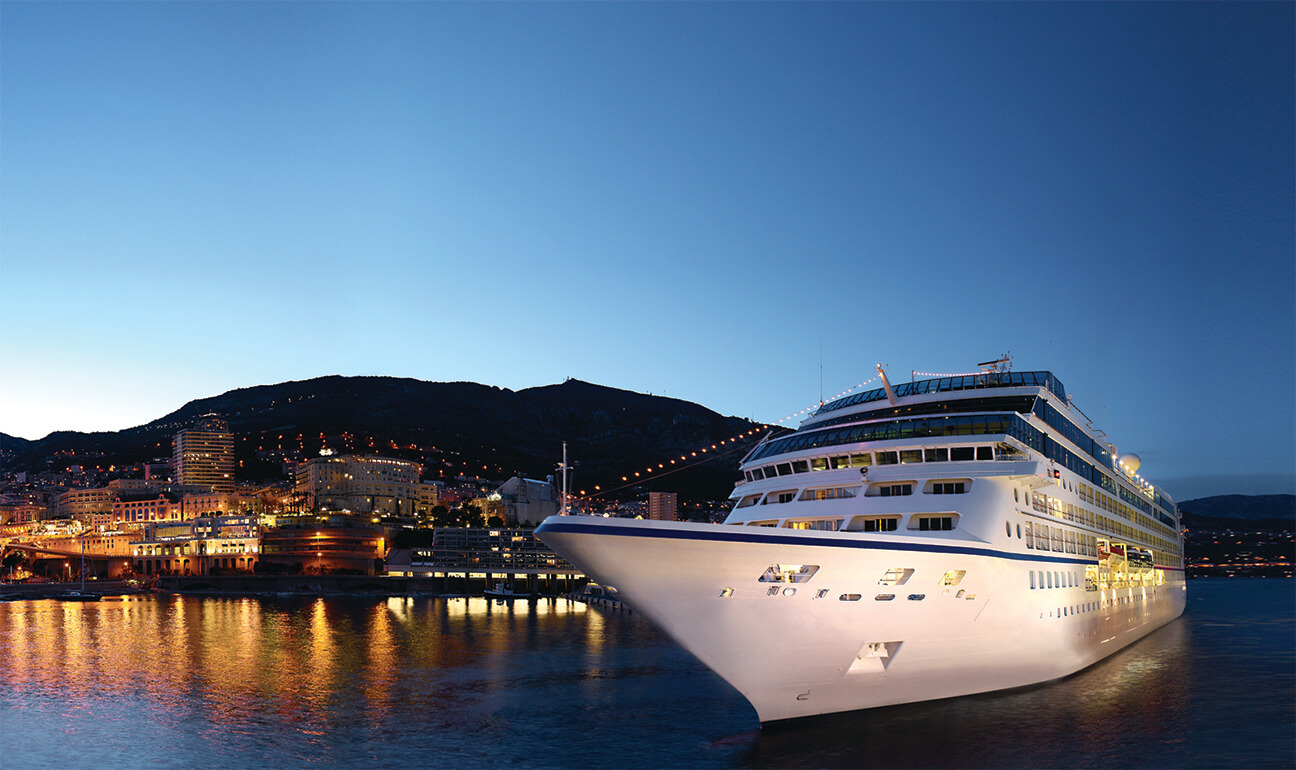 Sailaway in Monte Carlo, Oceania Cruises   Go Next